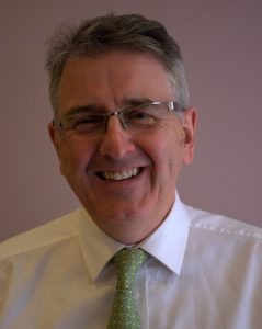 Robbie Thomson, Chair of the West of Scotland BDA